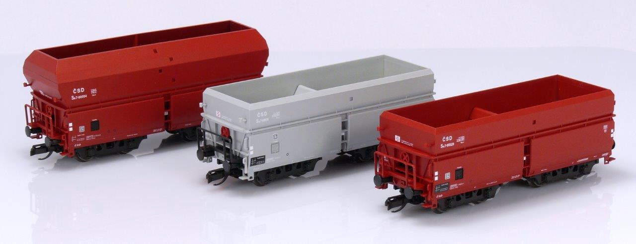 Výsypné vozy Sa – Exkluzivní model