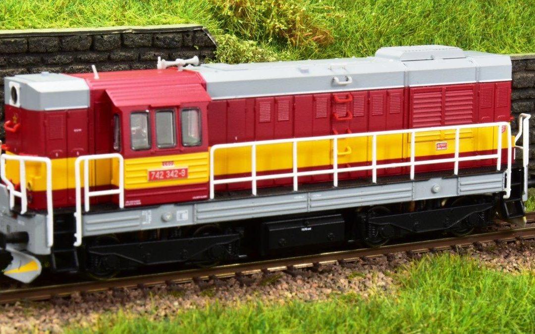 Exkluzivní model lokomotivy řady T466.2 / 742