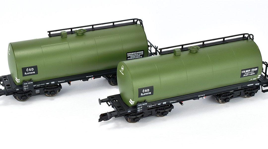 Kotlové vozy ČSD od Kuehn Modell