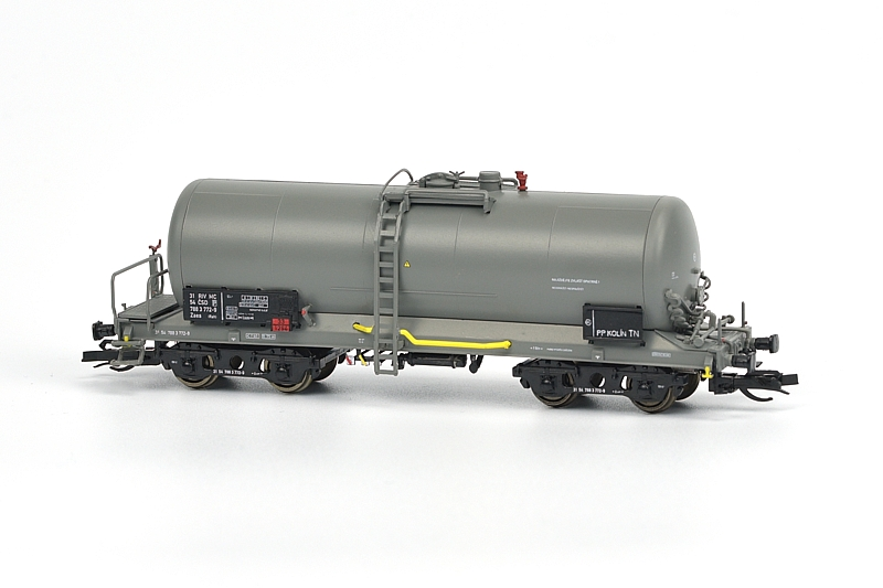 Model kotlového vozu Zaes (Rah) od firmy Igra